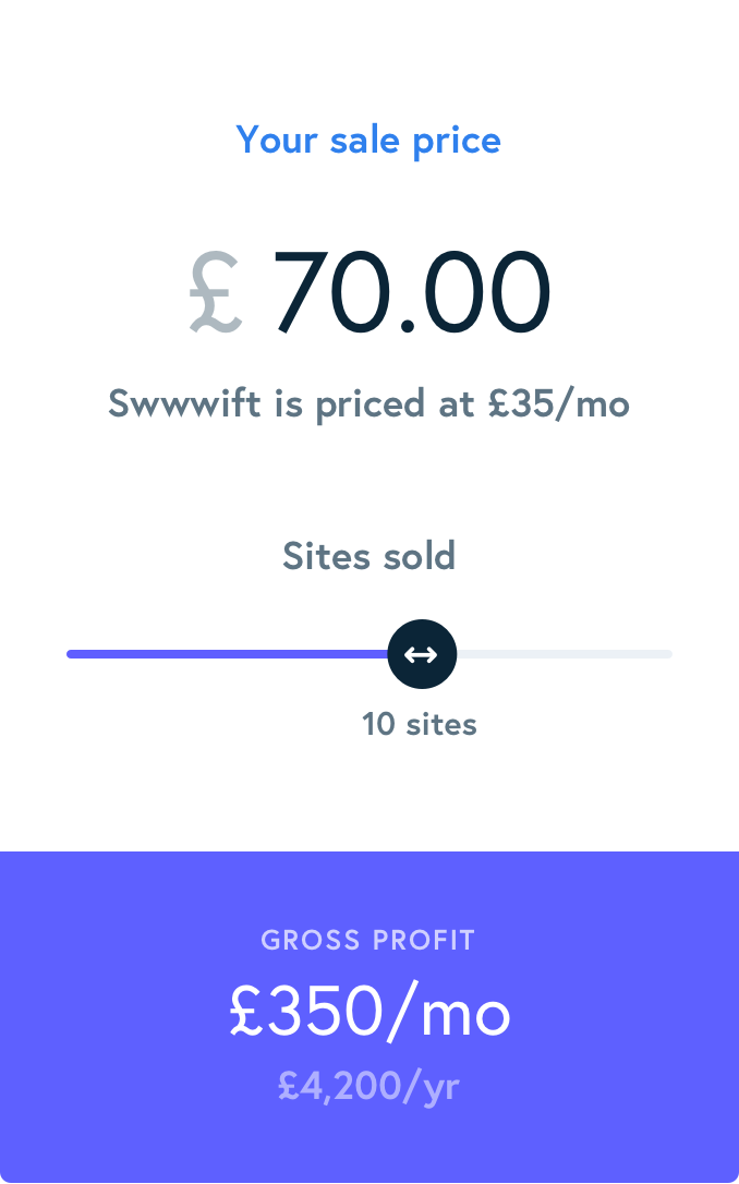 What can you earn from Swwwift